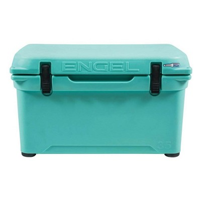 Engel Coolers 35 Quart 42 Can High Performance Roto Molded Ice Cooler, SeaFoam