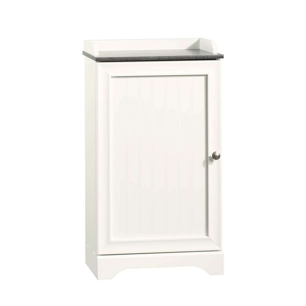 Image of Caraway Decorative Floor Cabinet White - Sauder