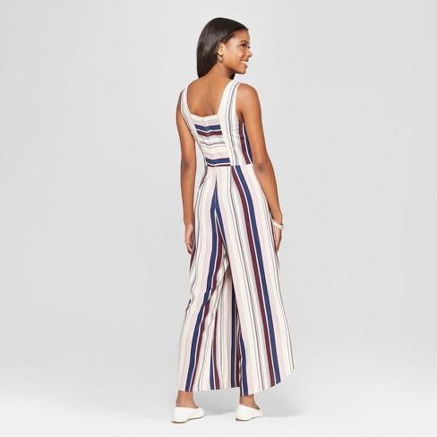 7280fee9fdfb Women s Sleeveless Tie Front Tulip Leg Jumpsuit - Xhilaration™   Target