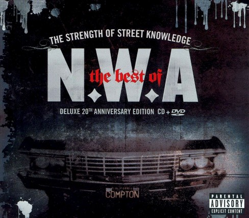 N.W.A. - Strength of street knowledge:Best of [Explicit Lyrics] (CD) - image 1 of 1
