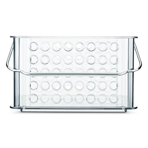 Utility Storage Bin with Handle Clear Small - Room Essentials™ - image 1 of 1