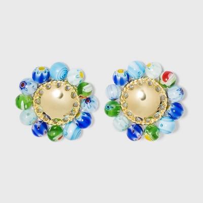 SUGARFIX by BaubleBar Beaded Statement Stud Earrings