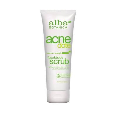 Alba Acnedote Face & Body Scrub- 8oz