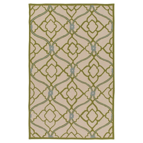 Surya Ezhou Outdoor Rug - Lime - image 1 of 2