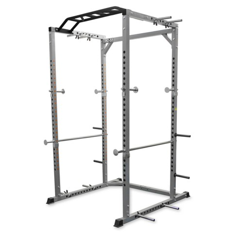 Valor Fitness BD-33 Heavy Duty Power Cage with Band Pegs and Multi-Grip Chin-Up - image 1 of 4