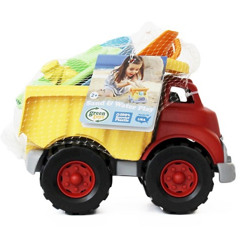 Green Toys Sand and Water Play Dump Truck with Boat and Sand Tools - image 1 of 1