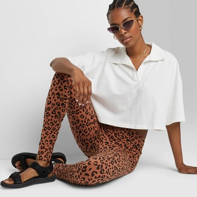 Women's High-Waisted Classic Leggings - Wild Fable™