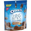 Oreo Thins Bites Fudge Dipped Latte Sandwich Cookies  - 6oz - image 2 of 4