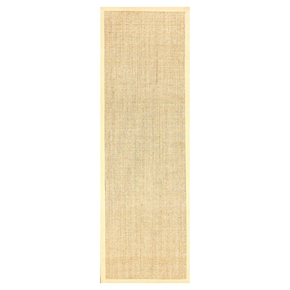 nuLOOM orsay sisal Runner - Beige (2' 6 x 10')