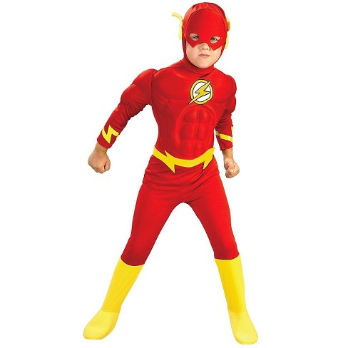 DC Comics The Flash Muscle Chest Deluxe Kids' Costume - image 1 of 1