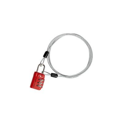 Eagle Creek 3-Dial TSA Lock® & Cable