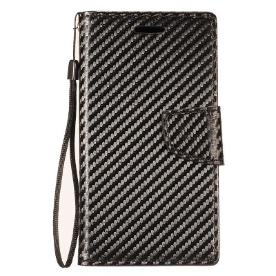 Insten Leather Flip Case w/stand for Apple iPhone
