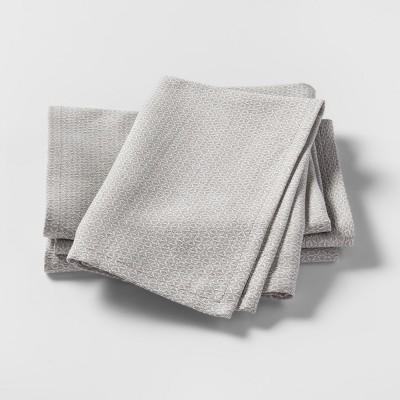 Napkin Gray 4pk - Threshold™