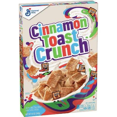 Cinnamon Toast Crunch Breakfast Cereal - 12oz - General Mills