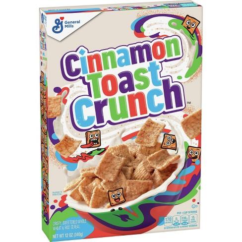 Cinnamon Toast Crunch Breakfast Cereal - 12oz - General Mills - image 1 of 4
