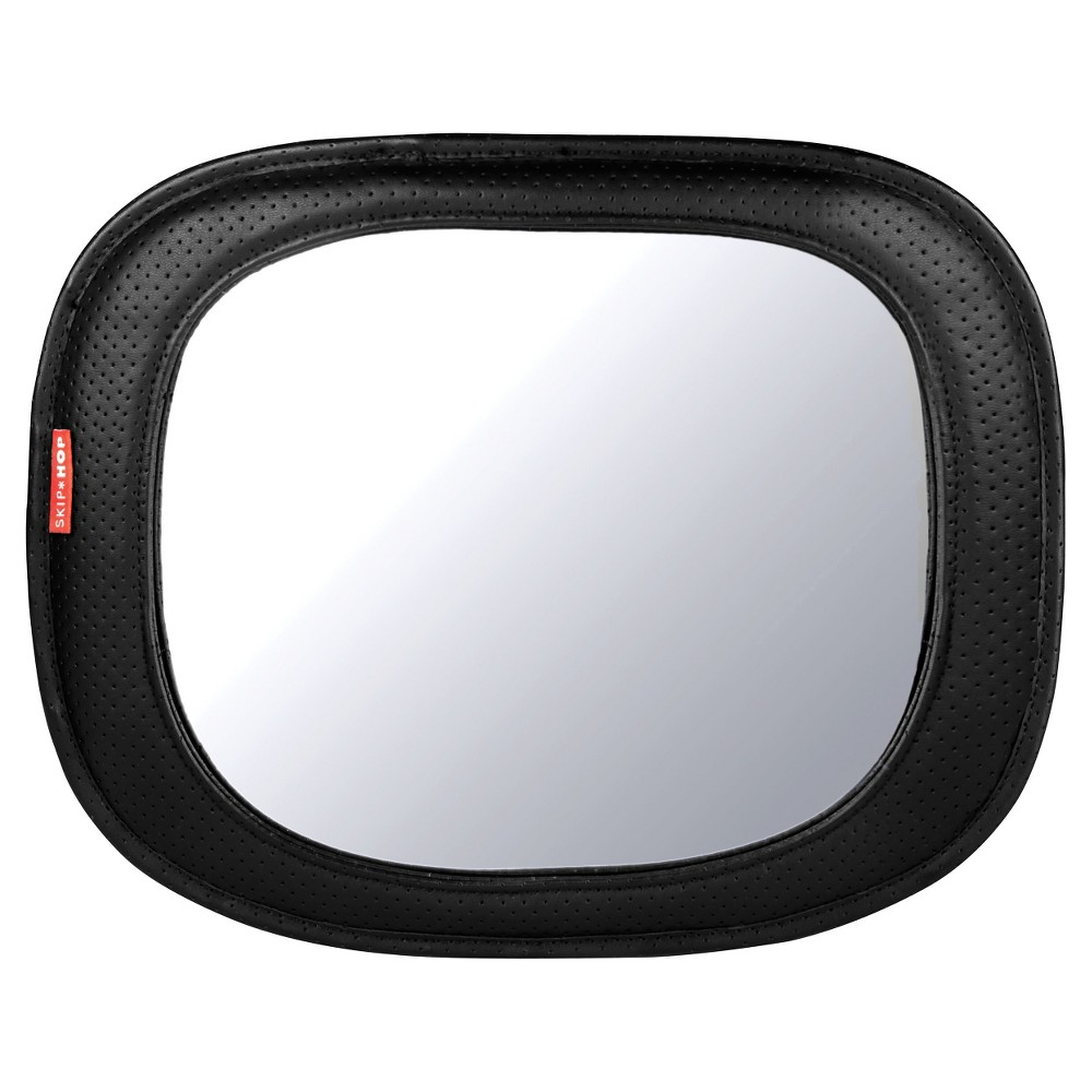 Image of Skip Hop STYLE DRIVEN Backseat Mirror - Tonal Chevron, Black