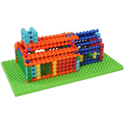 Popular Playthings Playstix Deluxe Building Set 211 Pcs