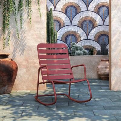 Roberta Patio Rocking Chair - Novogratz