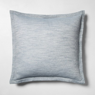 Shop Euro Sham Blue Twill - Hearth & Hand with Magnolia from Target on Openhaus