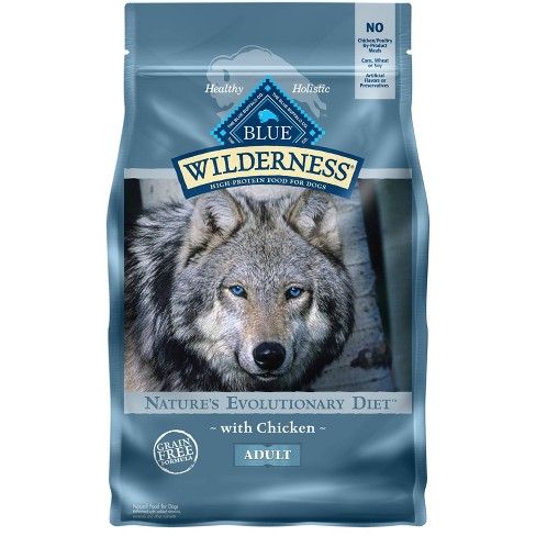 Blue Buffalo Wilderness 100% Grain Free Chicken Adult Dry Dog Food - image 1 of 4