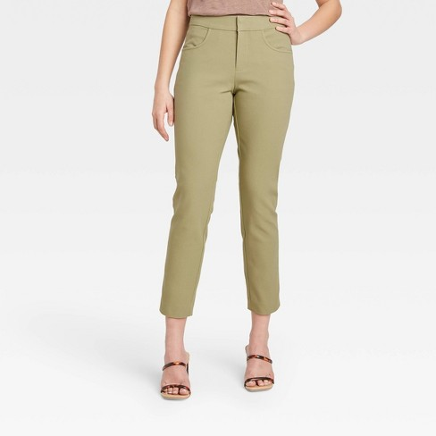 Women's High-Rise Skinny Ankle Pants - A New Day™ - image 1 of 3