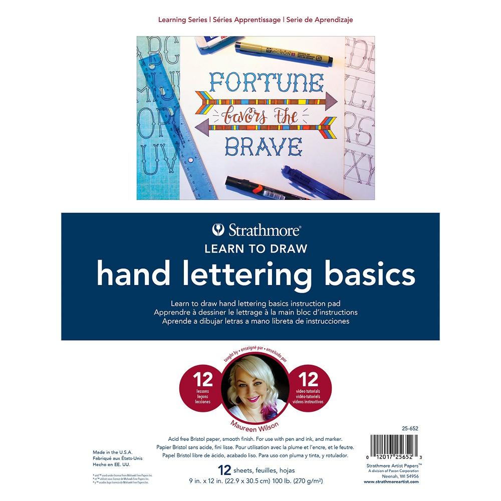 Image of Hand Lettering Basics Book - Strathmore, White