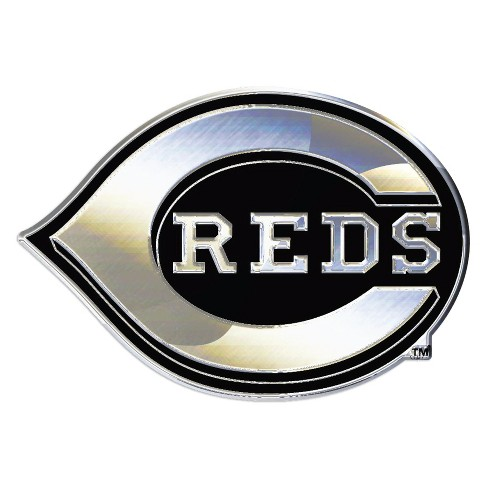 MLB Cincinnati Reds Chrome Auto Emblem - image 1 of 1