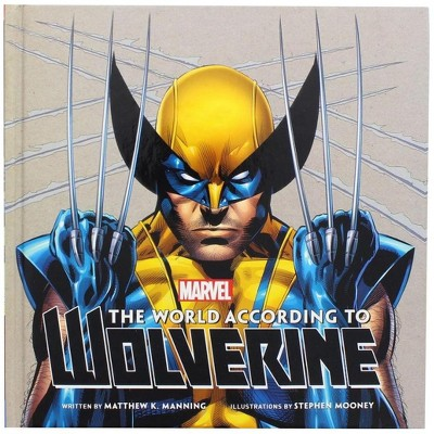 Nerd Block The World According to Wolverine Hardcover Book (Insight Legends)