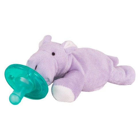 Wubbanub Hippo Pacifier Purple Target