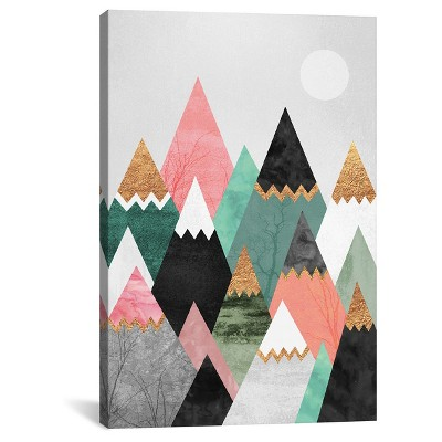 "26"" x 18"" Pretty Mountains by Elisabeth Fredriksson Canvas Print - iCanvas"