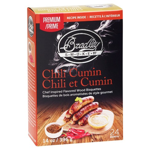 Chili Cumin Bisquettes 24 Pack - Bradley Smoker - image 1 of 1