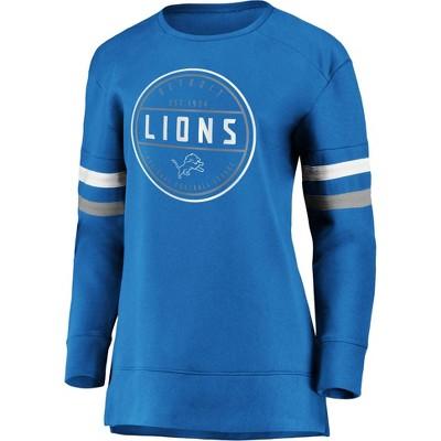 NFL Detroit Lions Women's Long Sleeve Fleece Sweatshirt