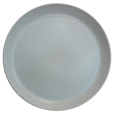 Round Serving Platter Stoneware Speckled Light Blue - Threshold™
