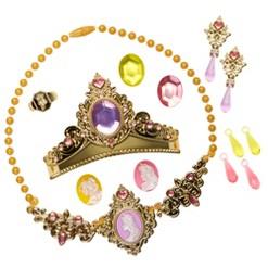 Disney Princess Majestic Collection Accessory Set 17pc, Gold