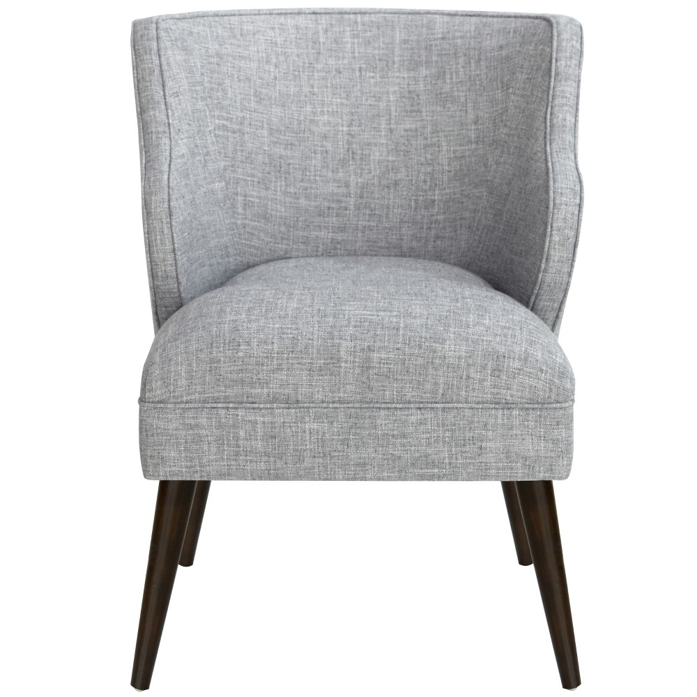 Mandolene Mid-Century Arm Chair Pumice Gray Linen - Project 62