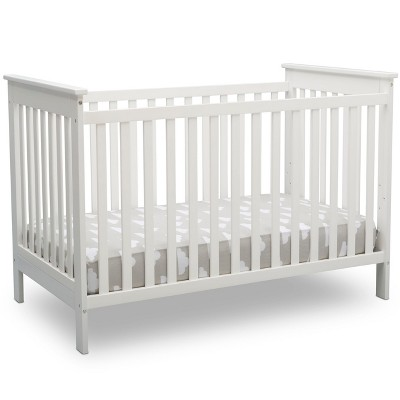 Delta Children Adley 3-in-1 Crib - Bianca White