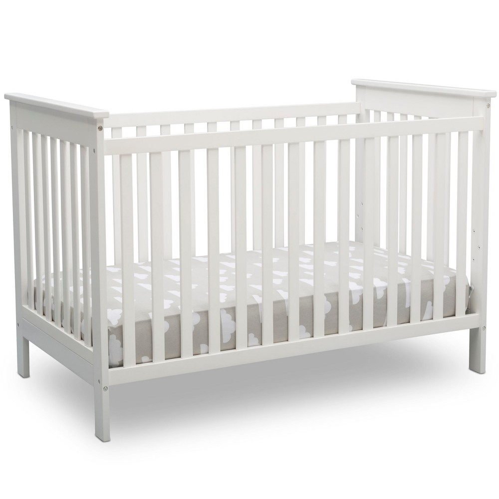 Image of Delta Children Adley 3-in-1 Crib - Bianca White