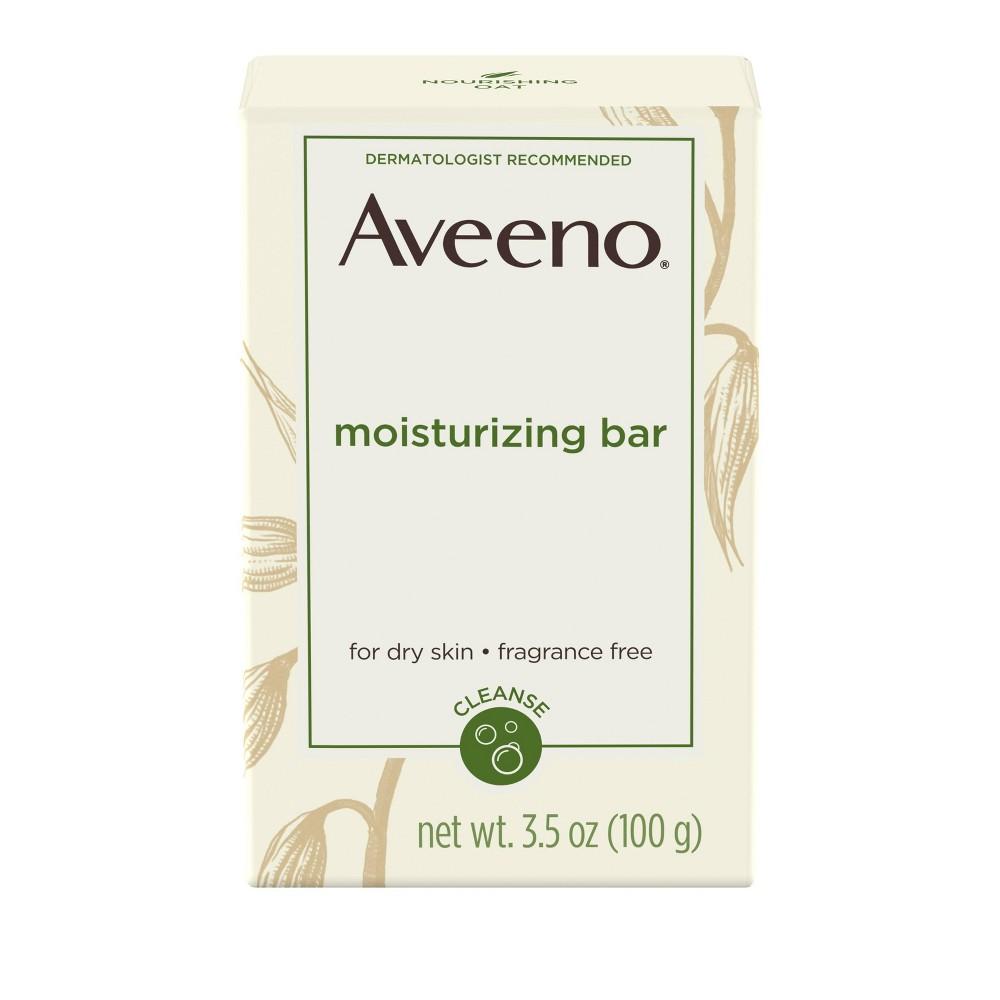Unscented Aveeno Gentle Cleansing Moisturizing Bar - 3.5oz