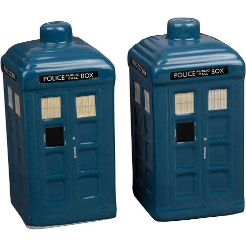 Seven20 Doctor Who TARDIS Ceramic Salt & Pepper Shakers | Set of 2 - image 1 of 3