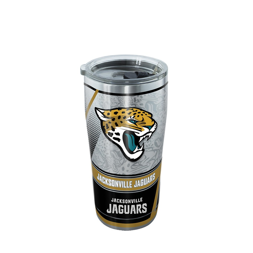 Jacksonville Jaguars 20oz Genuine Stainless Tumbler