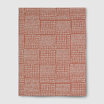 Dot Grid Outdoor Rug Coral - 5'x7' - Project 62™