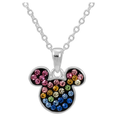 Disney® Mickey Mouse Rainbow Pendant Necklace - image 1 of 1