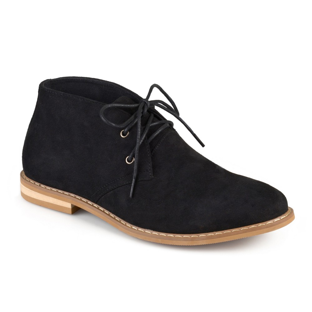 Men's Vance Co. Manson Lace-up Faux Suede High Top Chukka Boots - Black 13