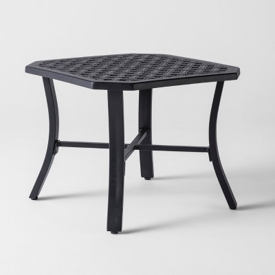 Delicieux Chester Aluminum Octagon Patio Side Table   Threshold™ : Target