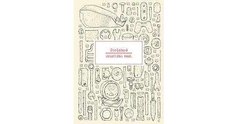 Toolshed Coloring Book - image 1 of 1