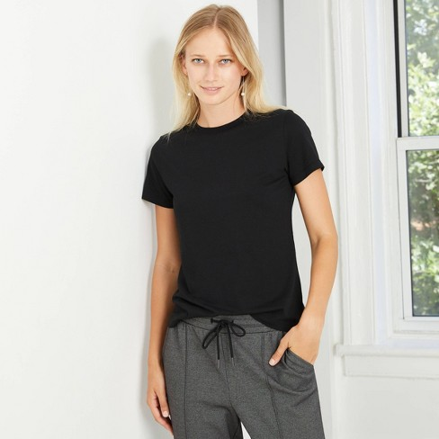 Women's Short Sleeve Casual T-Shirt - A New Day™ - image 1 of 3