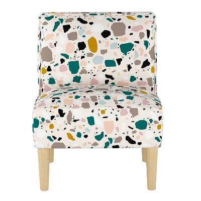Robin Chair Terrazzo Emerald Ochre - Skyline Furniture