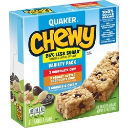 Quaker Chewy Low Sugar Chocolate Chip