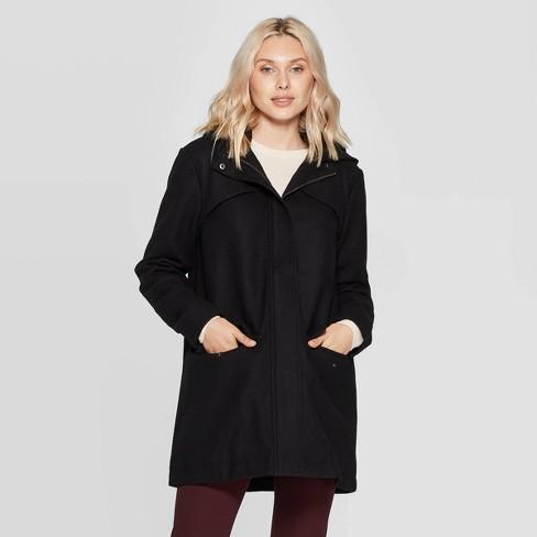 Women's Wool Duffel Coat - A New Day™ - image 1 of 3