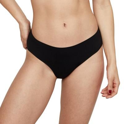 Unders by Proof Period Underwear Regular Absorbency Brief - Black